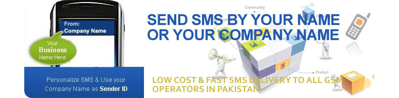 Branded SMS Pakistan